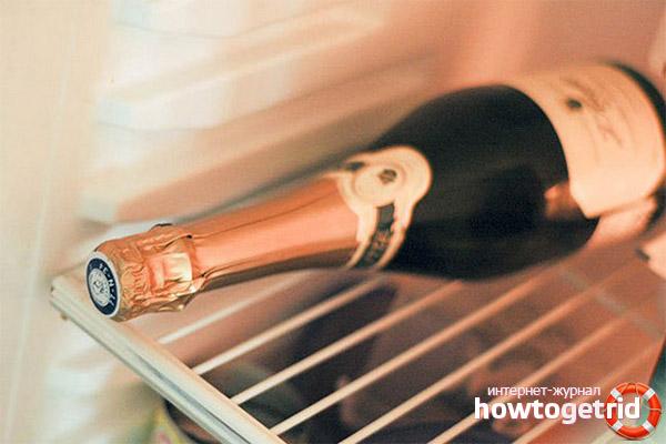 Empfehlungen zur Lagerung von Champagner