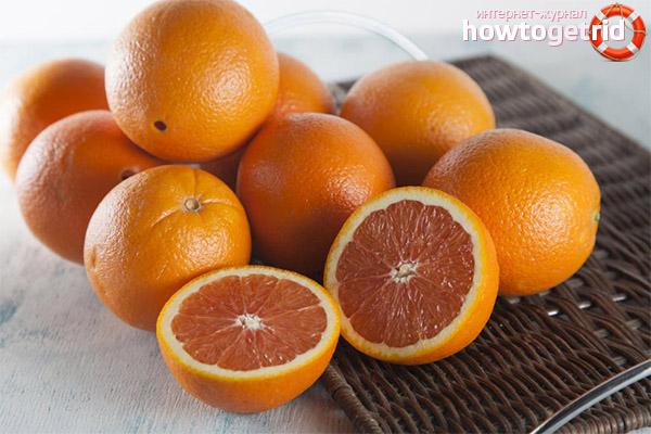 Вреда и противопоказания на червени портокали