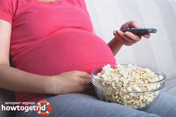 Môžu tehotné ženy jesť popcorn