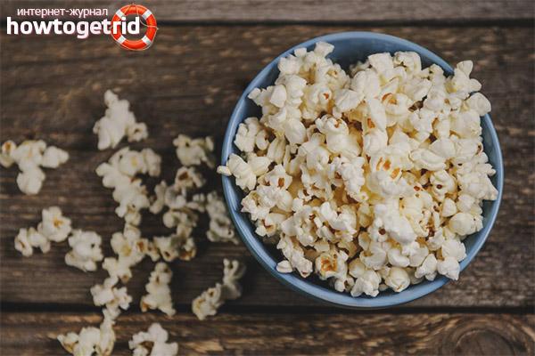 Popcorn vo svojej kuchyni
