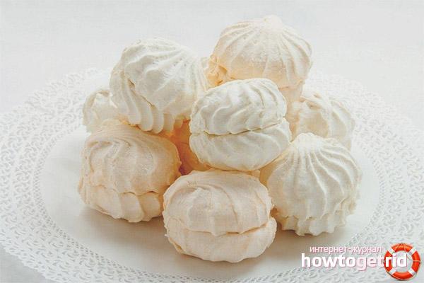Tipus de marshmallows com a part de la dieta