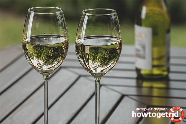 Valg og servering af hvidvin