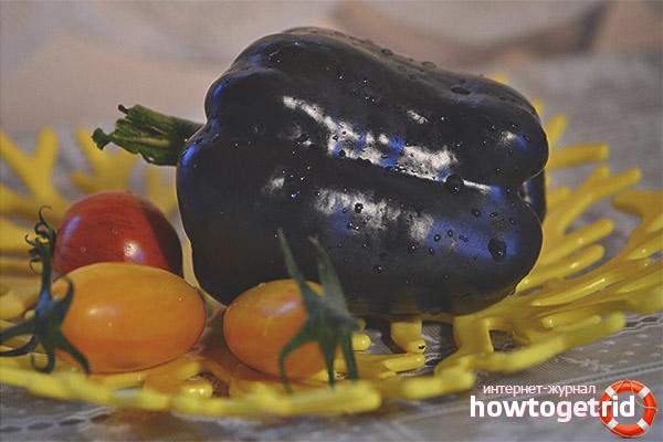 Peppar för svart häst