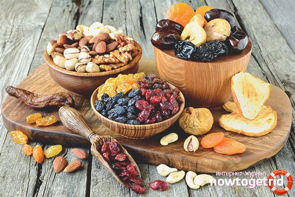 Gründe, getrocknete Früchte in Ihre Ernährung aufzunehmen