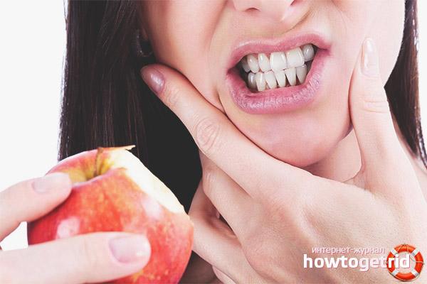 Ernährung gegen Zahnschmerzen